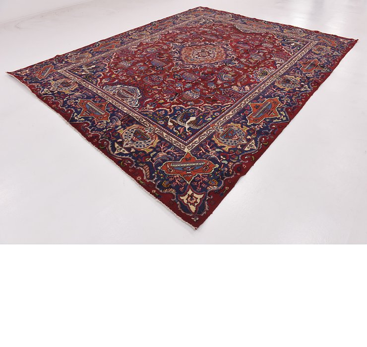 HandKnotted 9' 10 x 12' 2 Kashmar Persian Rug