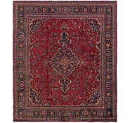 Link to 9' 10 x 11' 7 Mashad Persian Rug