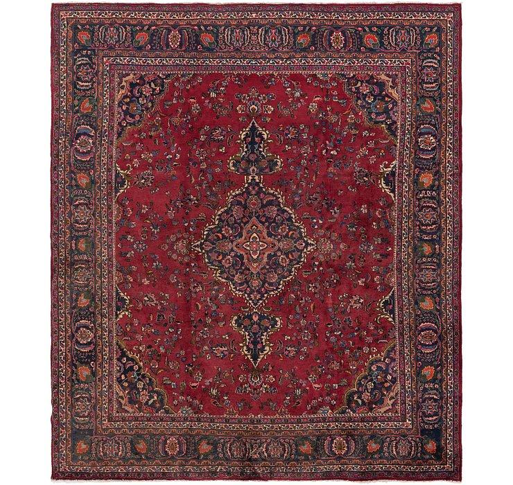 9' 10 x 11' 7 Mashad Persian Rug