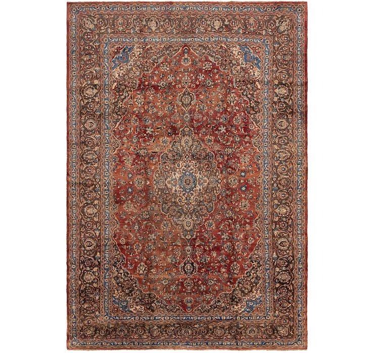 10' x 14' 2 Mashad Persian Rug
