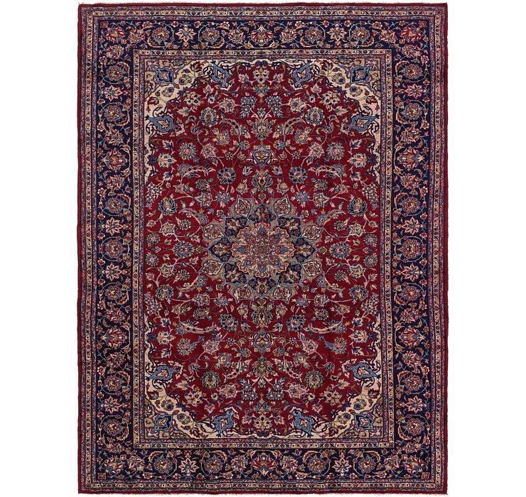 9' 8 x 12' 9 Isfahan Persian Rug