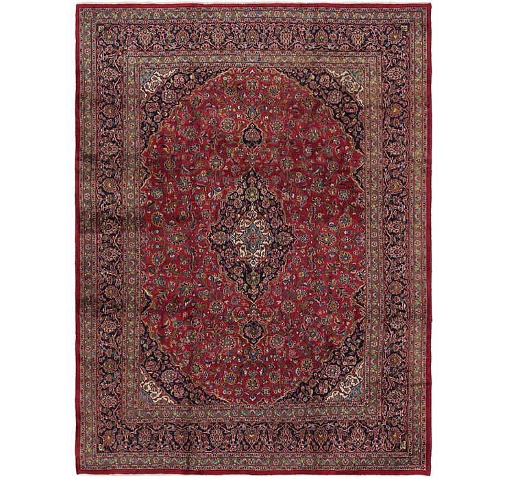290cm x 385cm Mashad Persian Rug