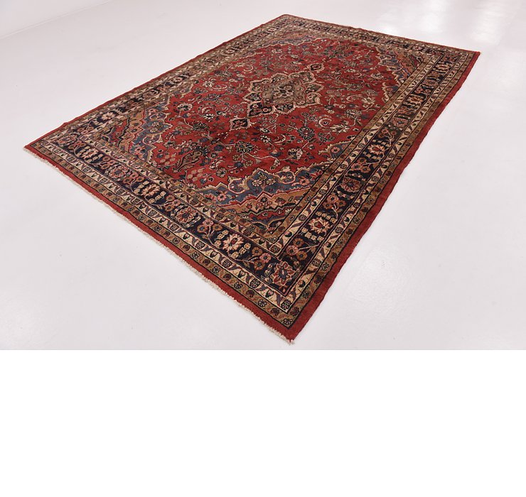 HandKnotted 7' 2 x 9' 8 Hamedan Persian Rug