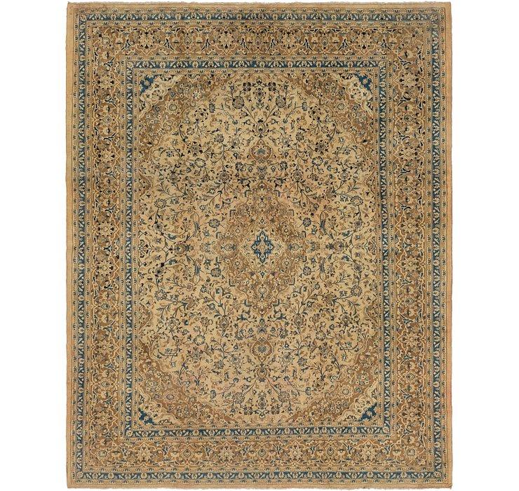9' 4 x 12' 3 Mashad Persian Rug