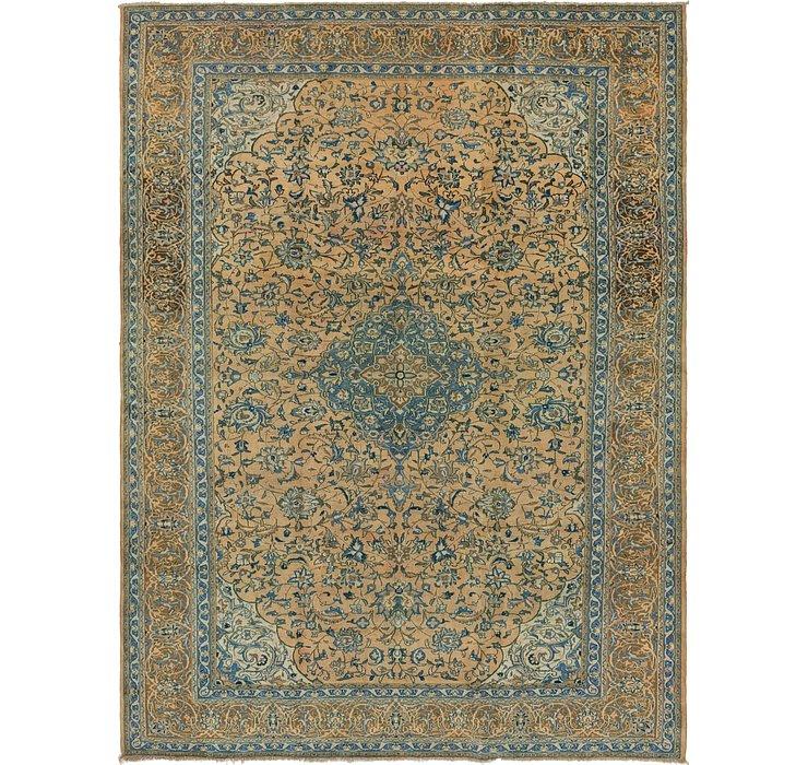 9' 6 x 12' 9 Kashan Persian Rug