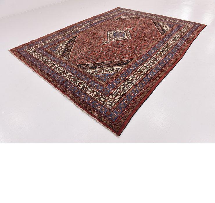 8' 5 x 11' 7 Hamedan Persian Rug