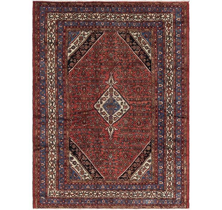 257cm x 353cm Hamedan Persian Rug