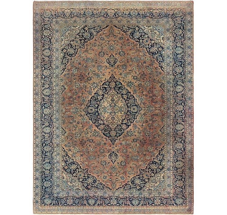10' 2 x 13' 8 Kashan Persian Rug