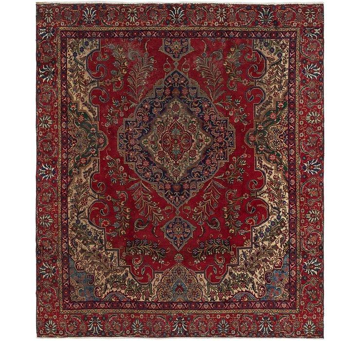 9' x 10' 5 Tabriz Persian Rug