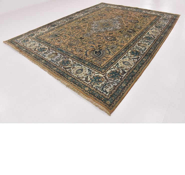 HandKnotted 10' x 12' 9 Tabriz Persian Rug