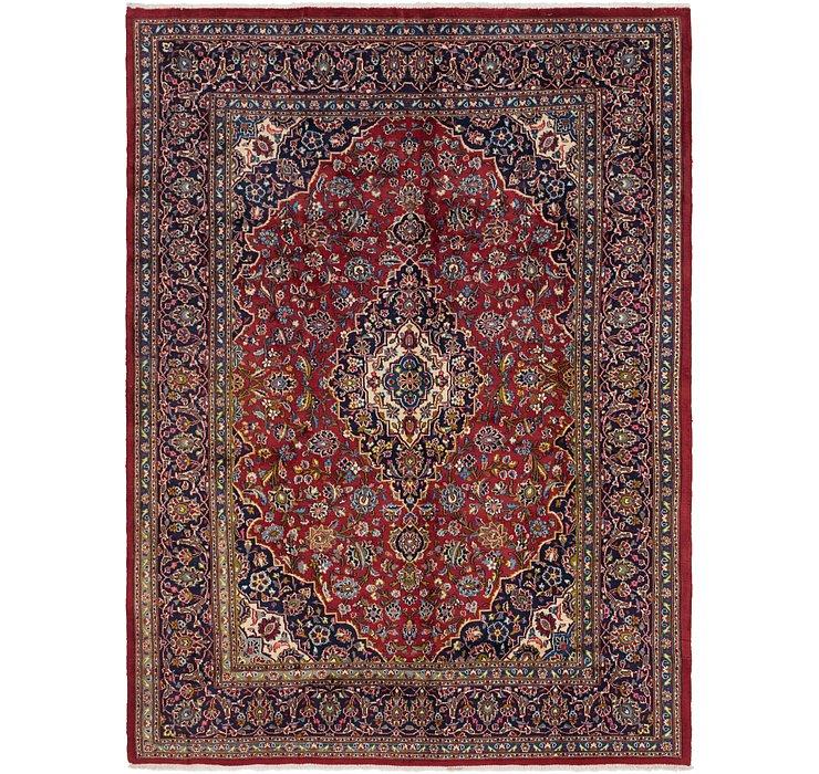 8' x 11' Kashan Persian Rug