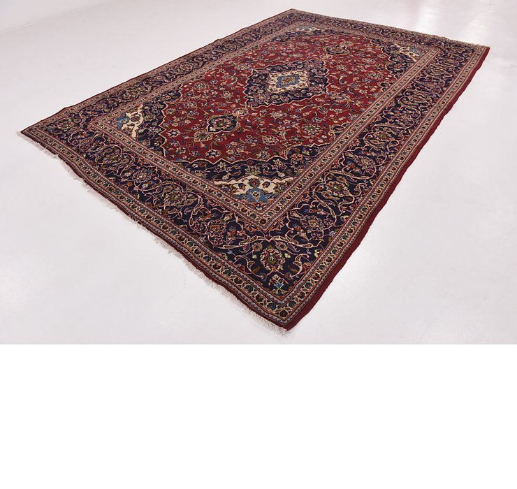 HandKnotted 8' x 11' 9 Kashan Persian Rug