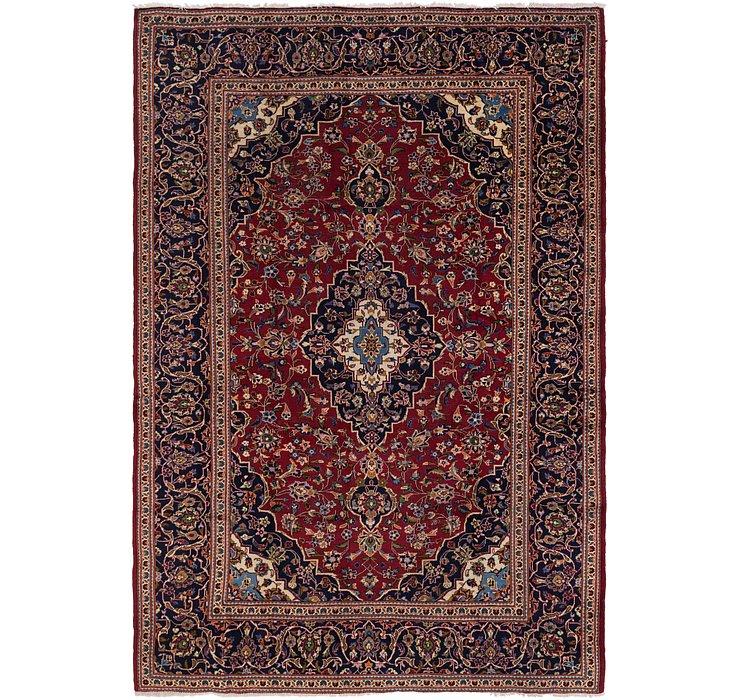 245cm x 358cm Kashan Persian Rug