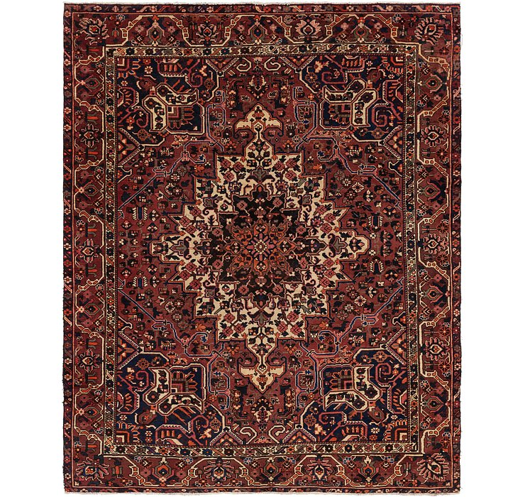 295cm x 370cm Bakhtiar Persian Rug