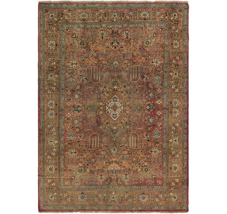 7' x 10' Tabriz Persian Rug