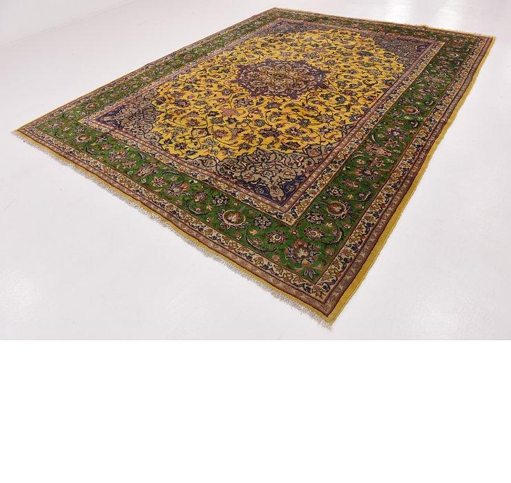 9' 6 x 11' 9 Kashan Persian Rug