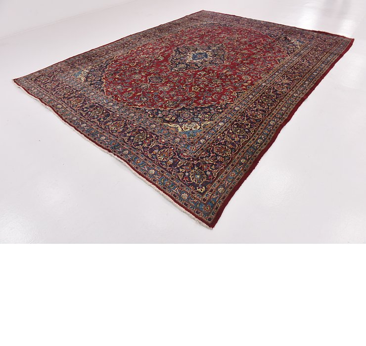 HandKnotted 9' 6 x 12' 6 Mashad Persian Rug