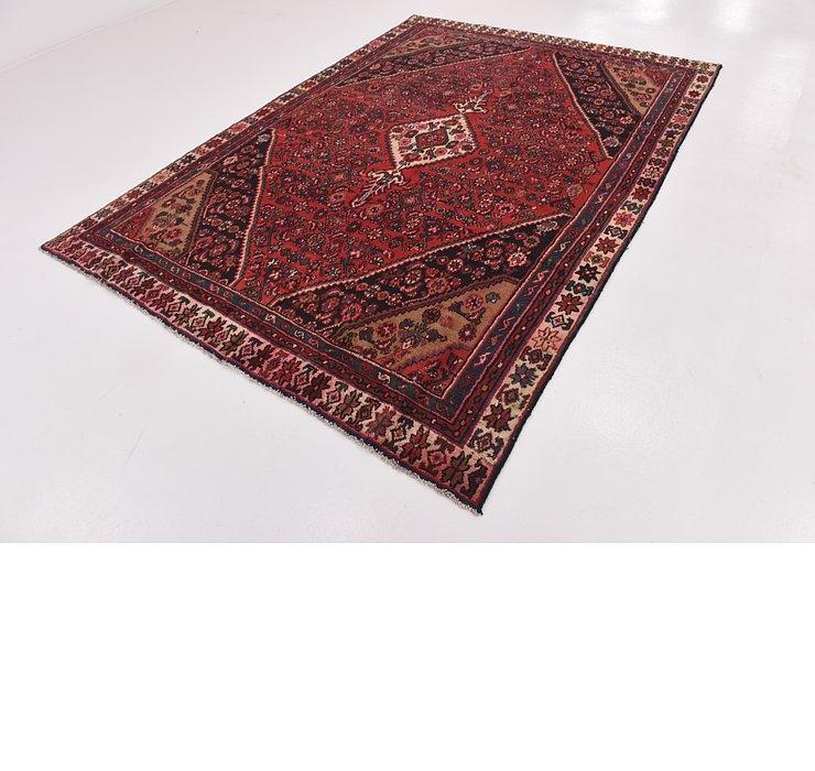 HandKnotted 6' 8 x 9' 6 Hamedan Persian Rug