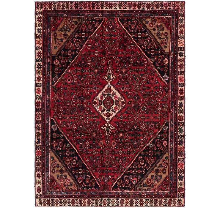 6' 8 x 9' 6 Hamedan Persian Rug
