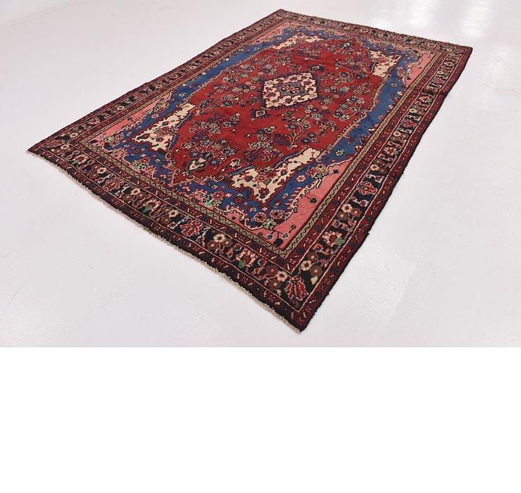 HandKnotted 6' 8 x 9' 7 Hamedan Persian Rug