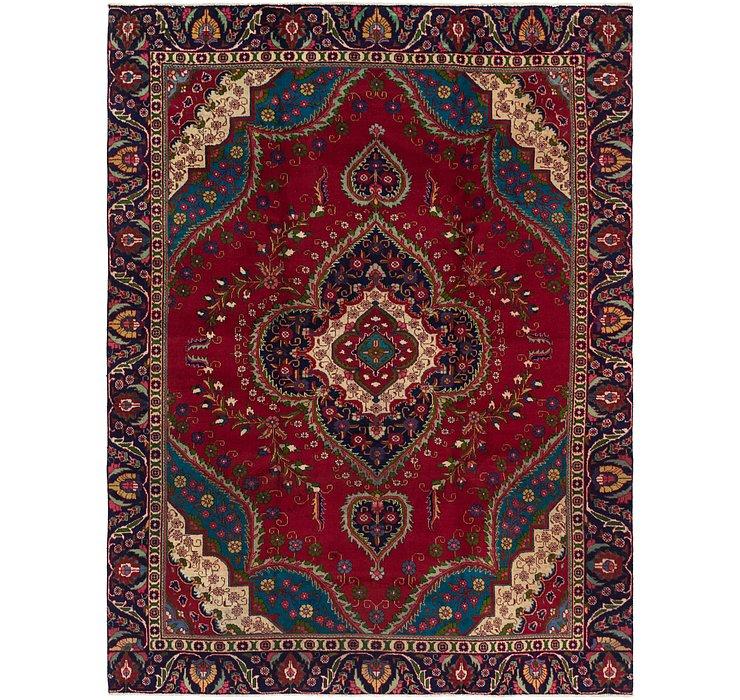 285cm x 378cm Tabriz Persian Rug