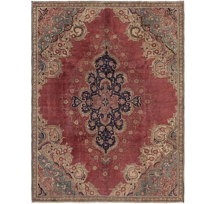 7' 3 x 9' 10 Tabriz Persian Rug