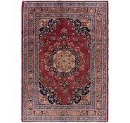 Link to 195cm x 282cm Mashad Persian Rug