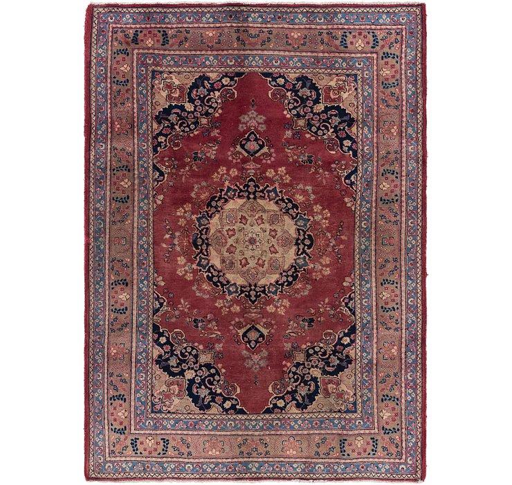 6' 5 x 9' 3 Mashad Persian Rug