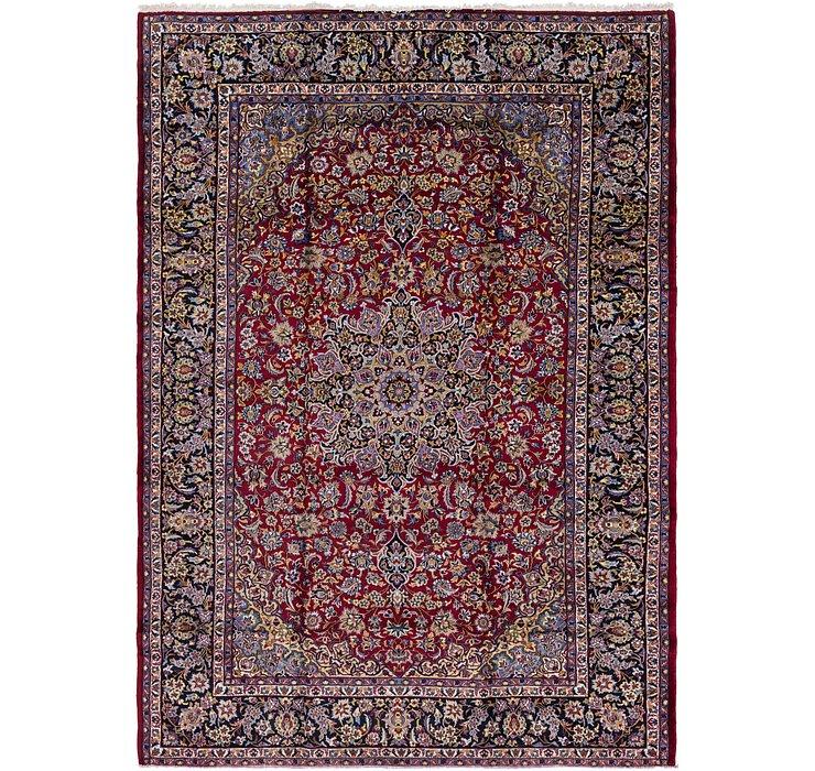 9' 6 x 13' 9 Isfahan Persian Rug