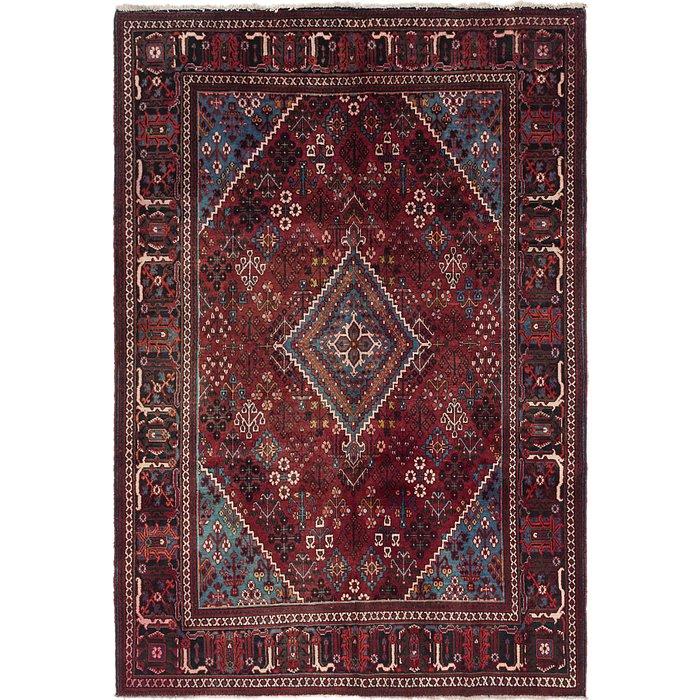 7' x 10' 4 Joshaghan Persian Rug