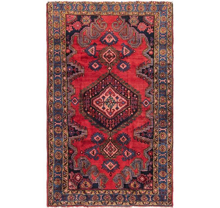 4' 9 x 7' 4 Viss Persian Rug