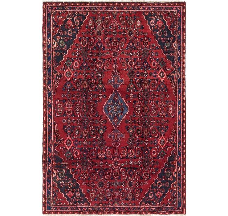 5' 8 x 8' 7 Hamedan Persian Rug