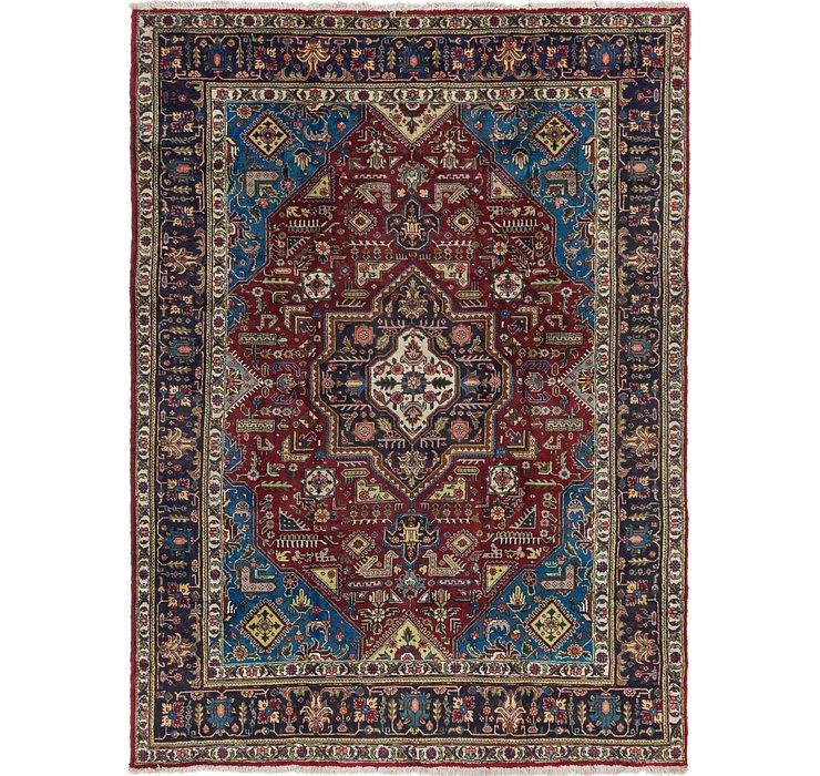 8' x 11' 2 Tabriz Persian Rug