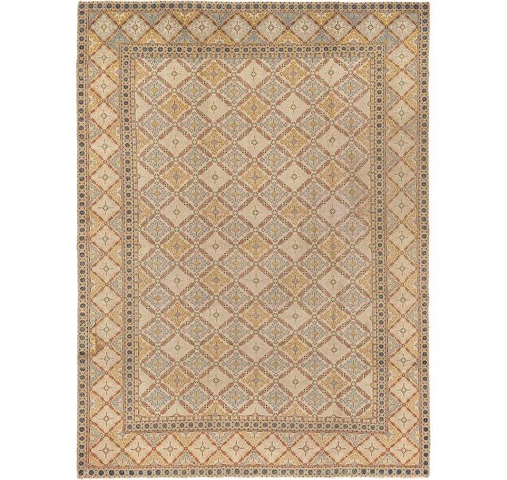 8' 9 x 11' 7 Kashan Persian Rug