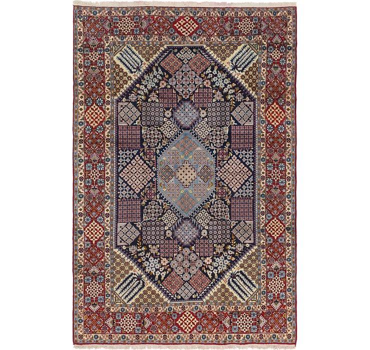 9' 5 x 13' 10 Isfahan Persian Rug