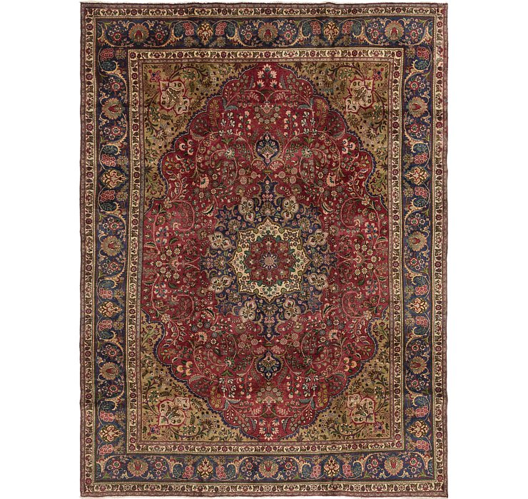 9' 4 x 13' Mashad Persian Rug