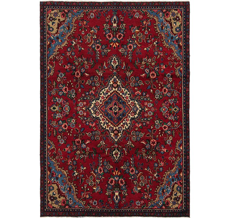 6' 6 x 9' 4 Shahrbaft Persian Rug