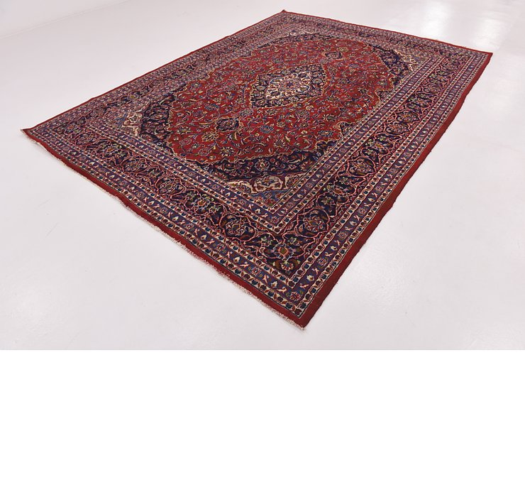 HandKnotted 7' 10 x 11' Mashad Persian Rug