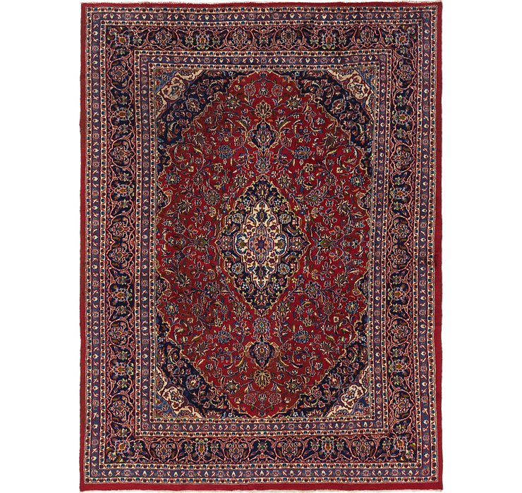 7' 10 x 11' Mashad Persian Rug