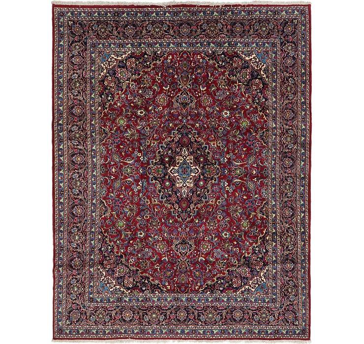 292cm x 390cm Kashan Persian Rug