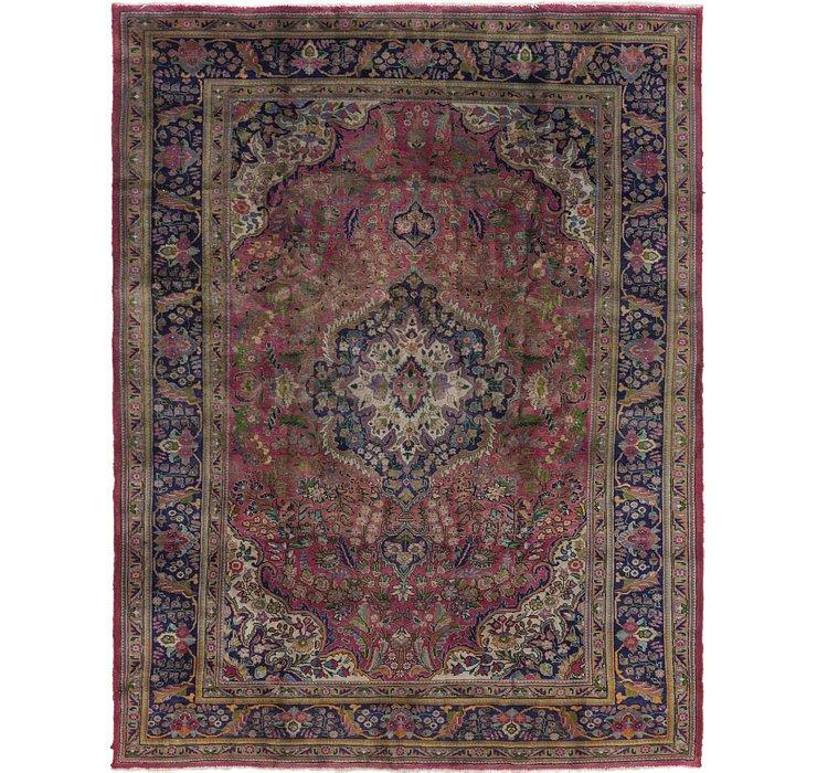 255cm x 330cm Mashad Persian Rug