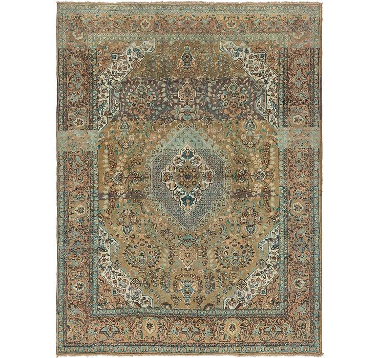 8' 9 x 11' 6 Tabriz Persian Rug