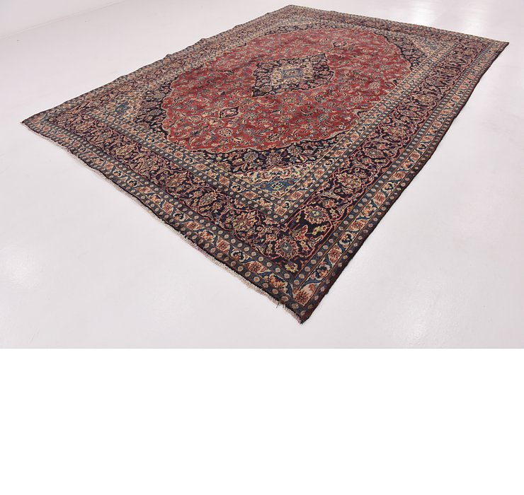 HandKnotted 9' x 12' 4 Mashad Persian Rug