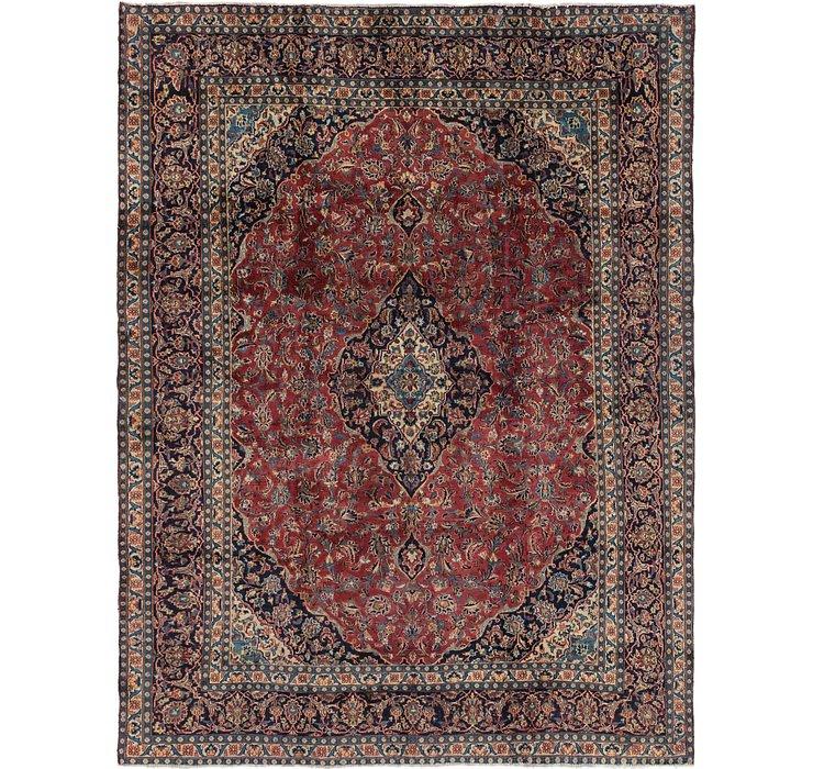 9' x 12' 4 Mashad Persian Rug