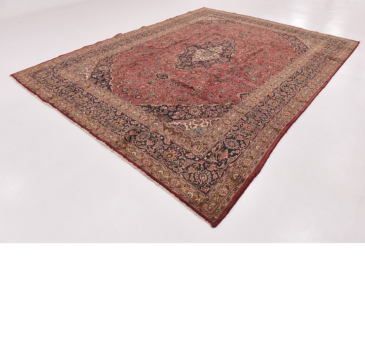 HandKnotted 9' 8 x 12' 8 Mashad Persian Rug