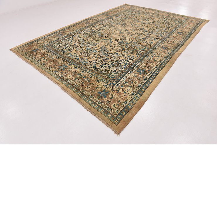 HandKnotted 8' 9 x 13' Mahal Persian Rug