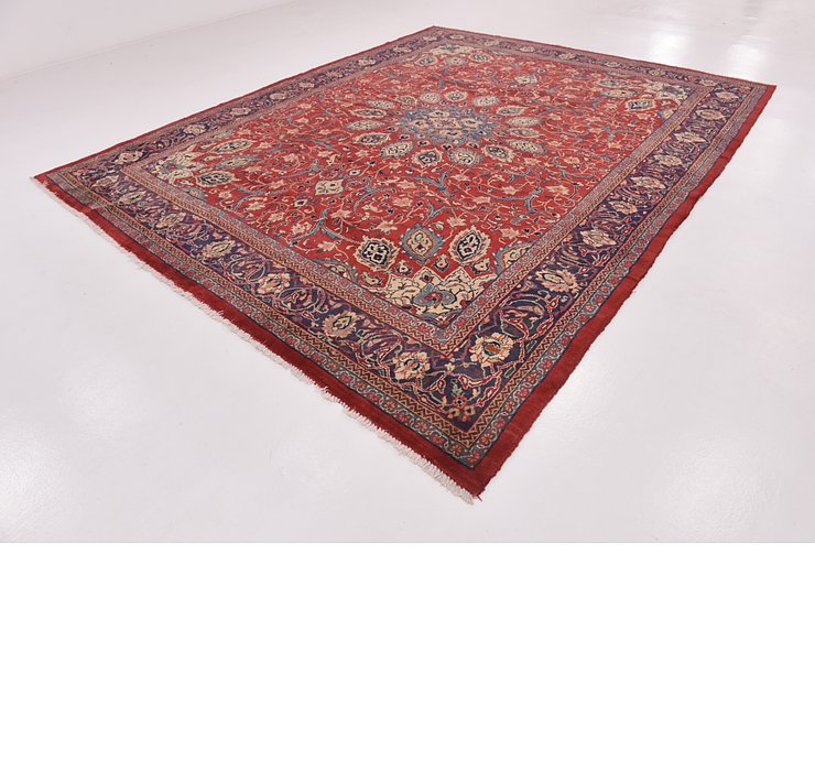 HandKnotted 10' x 12' 9 Farahan Persian Rug