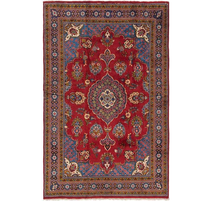 220cm x 353cm Golpayegan Persian Rug