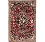 Link to 213cm x 328cm Kashan Persian Rug