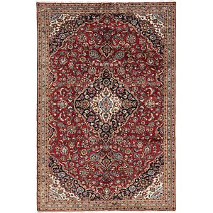 Link to 213cm x 328cm Kashan Persian Rug item page